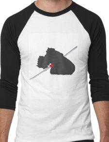 Cloud Stabbed - FFVII: TSOC Men's Baseball ¾ T-Shirt