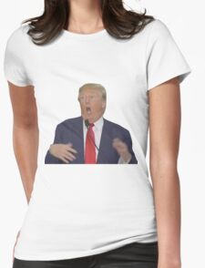 Donald Trump Retarded Womens Fitted T-Shirt