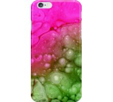 Pink and green iPhone Case/Skin