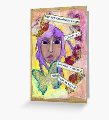 Inspiration, Soul Siren Greeting Card