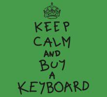 Keep Calm and Buy a Keyboard Kids Tee