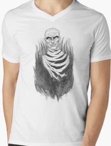 The Mummy Rises Mens V-Neck T-Shirt