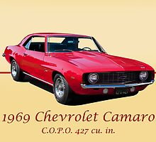 1969 Chevrolet Camaro COPO 427 w/ ID by DaveKoontz