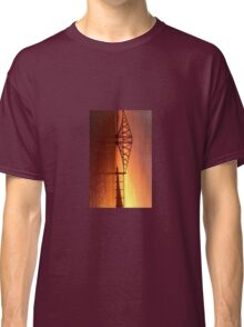 Forth Rail Bridge (Small) Orange Sunrise.   Classic T-Shirt