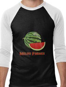 Melon Farmer Men's Baseball ¾ T-Shirt