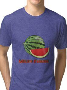 Melon Farmer Tri-blend T-Shirt