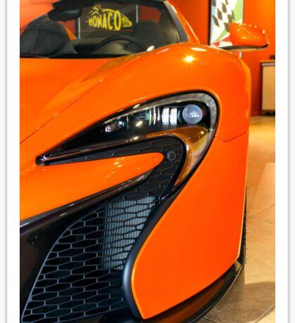 McLaren 650S Headlight Sticker