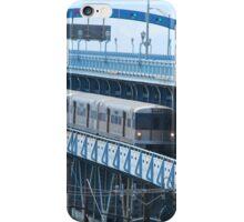 catch that train ( Bridge series)  iPhone Case/Skin