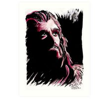 Thorin Oakenshield, amazing King Art Print