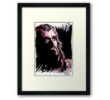 Thorin Oakenshield, amazing King Framed Print