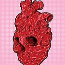 Skullentine Pink, by ARTmuffin by ARTmuffin