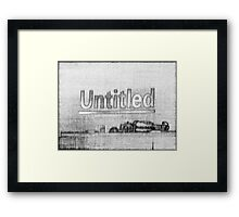 """Untitled"" Framed Print"