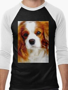 Cavalier King Charles Spaniel  Men's Baseball ¾ T-Shirt