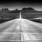 Highway 163, Utah by Stephen Knowles
