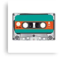tape cassette illustration Canvas Print