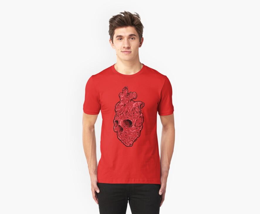 Skullentine shirt, by ARTmuffin by ARTmuffin