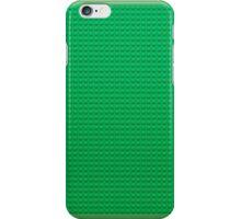 Lego texture green iPhone Case/Skin