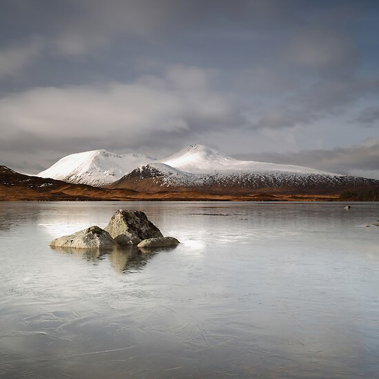 Black Mount & Lochan na h-Achlaise by Maria Gaellman