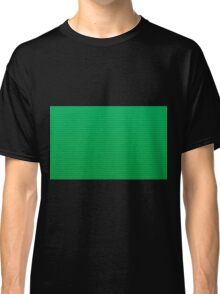 Lego texture green Classic T-Shirt