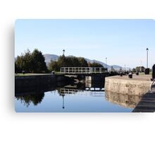 Neptune's Ladder Caledonian Canal at Corpach, Scotland Canvas Print