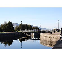 Neptune's Ladder Caledonian Canal at Corpach, Scotland Photographic Print