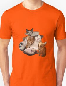 cut and paste cats Unisex T-Shirt