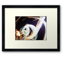 A Magestic Light Creature Framed Print