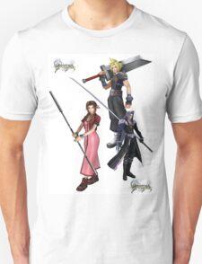 Dissidia 012 Reports Final Fantasy Characters 2 T-Shirt