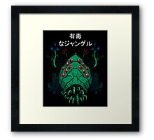 Toxic Jungle Framed Print