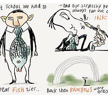 Fish Ties by Ellis Nadler