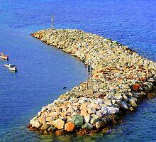 rock on the water by mkokonoglou