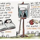 Erasing Frank O'Hara by Ellis Nadler