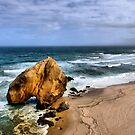 Santa Cruz Beach in Portugal by vribeiro