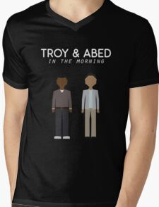 Troy & Abed in the Morning Mens V-Neck T-Shirt