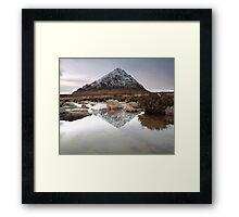 Buachaille Etive Mor Reflection Framed Print