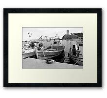 past & present Framed Print