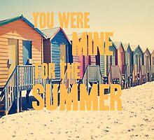 1D Summer Love Lyrics by Hannah Julius