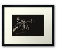 THE SPECIALIST Framed Print