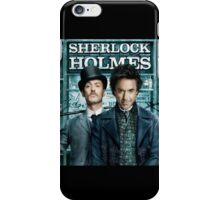 Sherlock Holmes iPhone Case iPhone Case/Skin