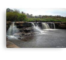 Waterfall: take 2 Canvas Print