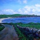 'Ayre of the Myres, Stronsay' 2010 ( oils ) by Jenny Stone