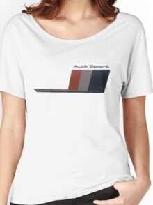 Audi sport Women's Relaxed Fit T-Shirt