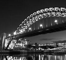 Mono Tyne Bridge by Great North Views