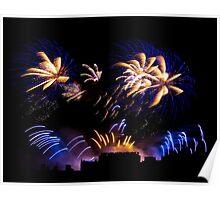 Edinburgh Festival Fireworks Poster