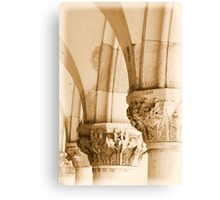 Basilica Venice Arch detail Canvas Print