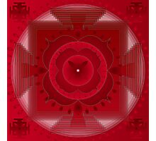 Healing Mandala for Colds Photographic Print