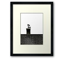 Decorative rooftop Framed Print