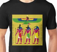 EGYPTIAN GODS WINGED Unisex T-Shirt