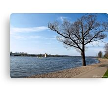 By Strathclyde Loch Canvas Print