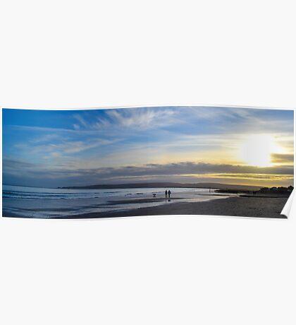 Sandbanks Beach Poster